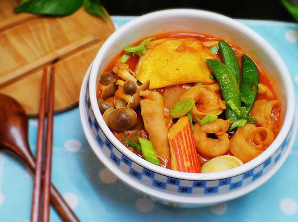 【邀稿合作食譜】~韓式泡菜海鮮餃湯麵
