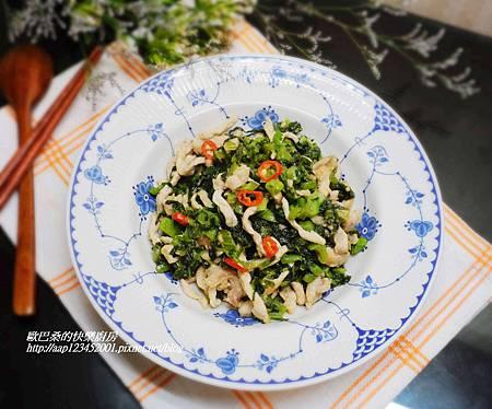雪菜炒肉絲 (10)