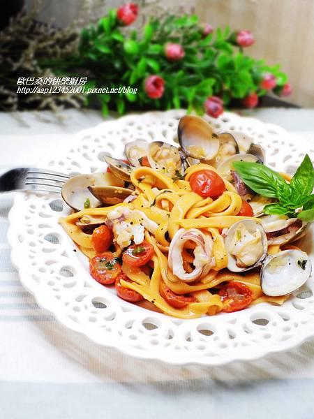 【邀稿食譜】~海鮮番茄義大利麵
