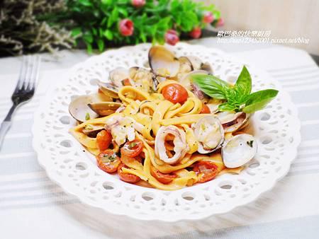 海鮮義大利麵 (14)