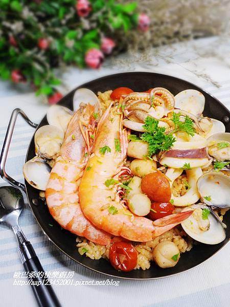 偷呷步~【西班牙海鮮燉飯】
