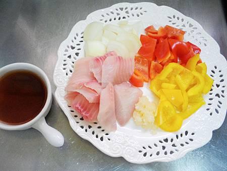 醋燒魚片 (1)