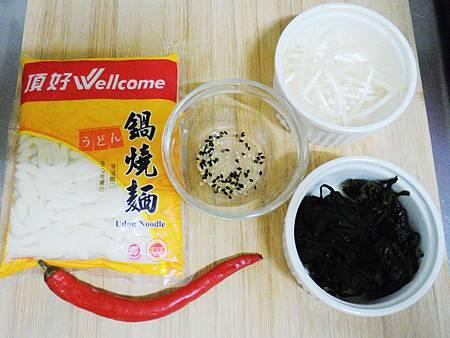 涼拌海帶烏龍麵 (1)