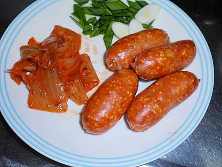 韓式泡菜香腸石鍋拌飯 (5)