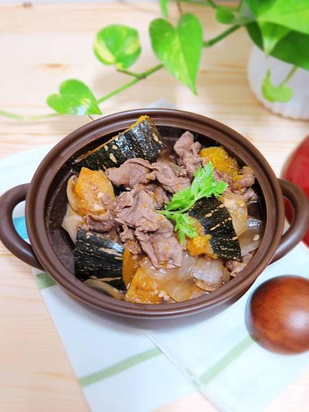 電鍋料理~【南瓜燒肉】