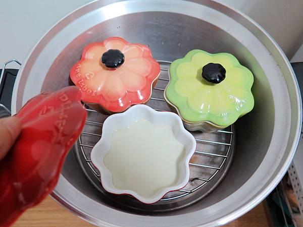 抹茶紅豆布丁 (8)
