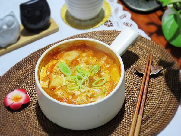 韓式泡菜蛋花湯