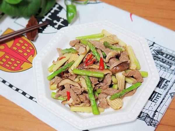 蘆筍炒肉絲 (16)