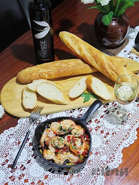 西班牙Tapas的必點菜~橄欖油蒜味蝦