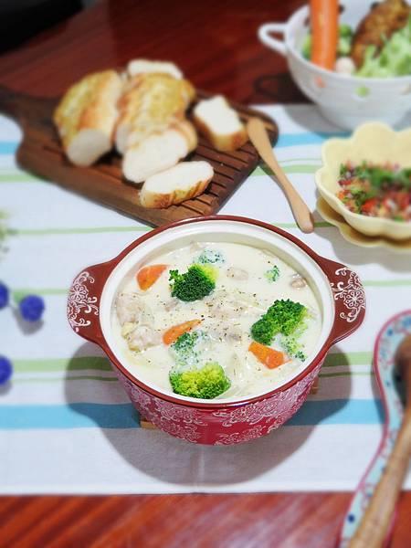 溫暖的情人節料理-奶油燉菜