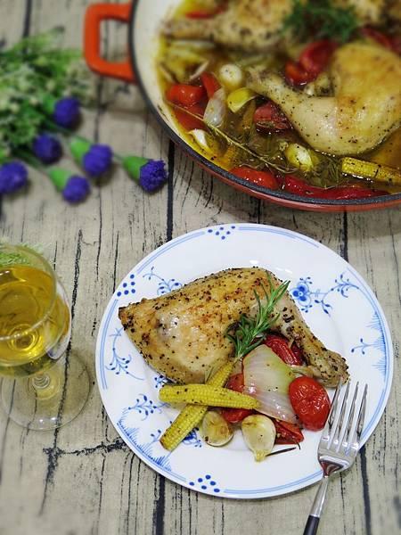 《ACAIA希臘特級初榨冷壓橄欖油》~香草時蔬烤雞腿排