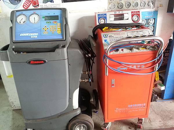 冷媒管路清洗機+冷媒定量充填回收機