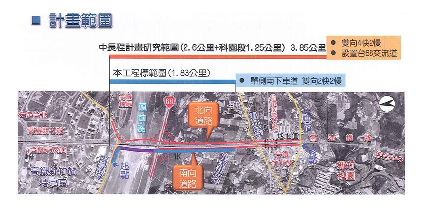高鐵橋下-計畫範圍