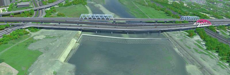 高鐵橋下-示意圖