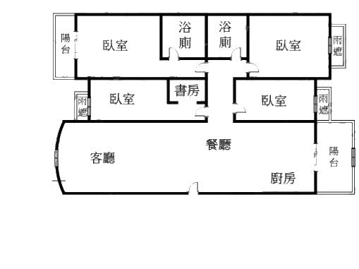 說LAVIE四房A1-10F格局圖_副本.jpg