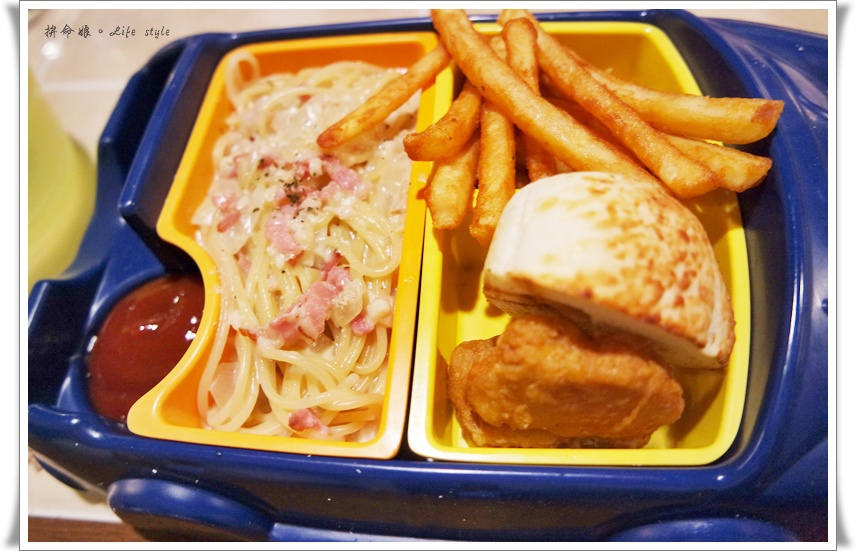GRASSO 胖肚子。小餐館 兒童餐 培根奶油麵 14.jpg