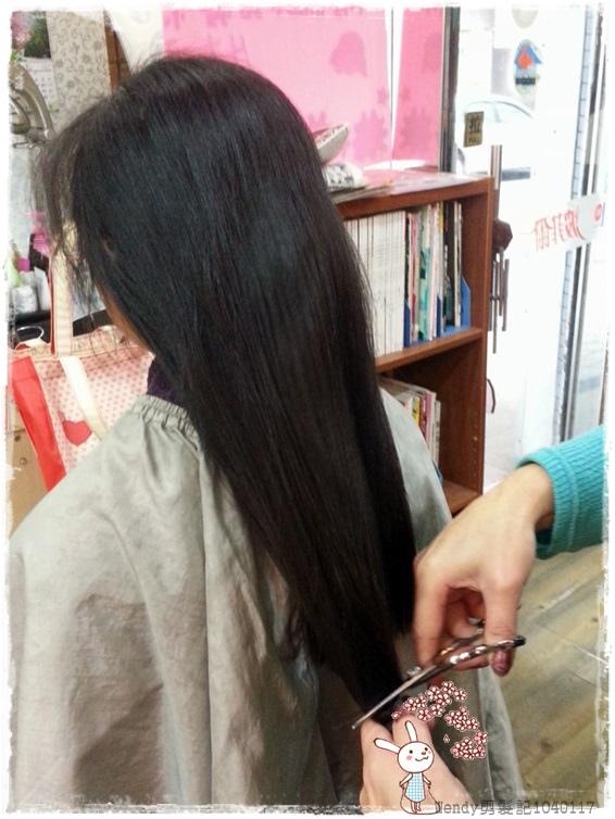 Wendy剪髮記1040117