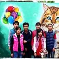旺萊山鳳梨酥觀光工廠菁埔貓彩繪村1040221IMG_7294.JPG