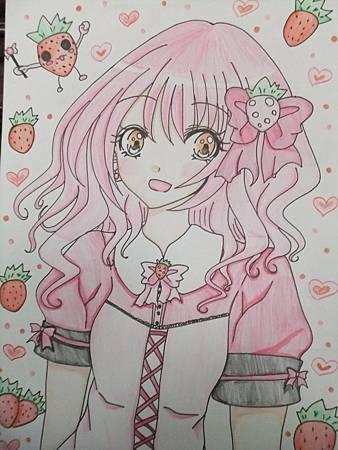 交草莓季的圖~~
