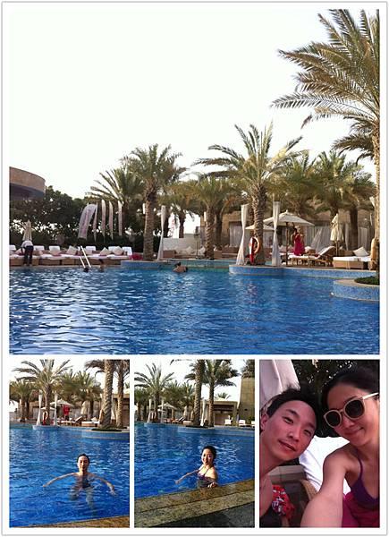 Nice pool @ Shangri-la hotel Dubai