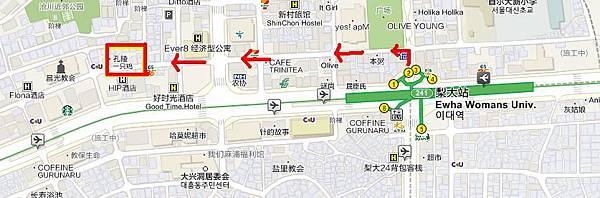 孔陵一隻雞地圖
