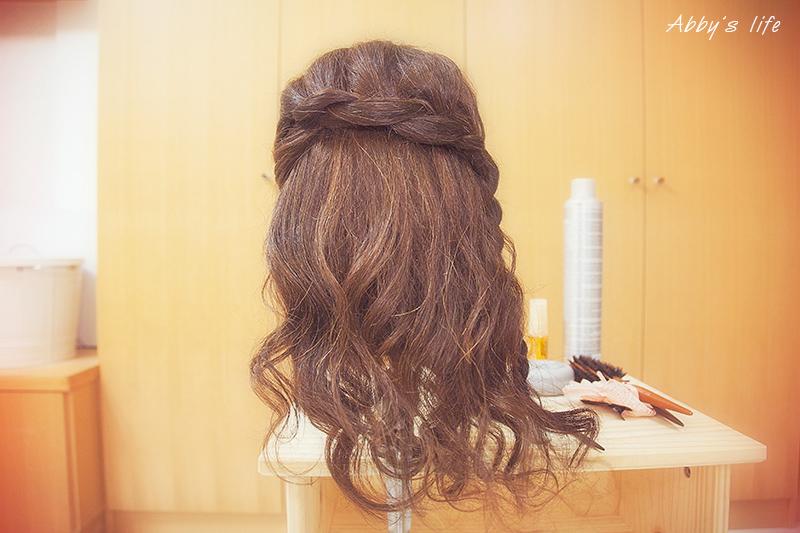 新娘伴娘邊髮髮型教學
