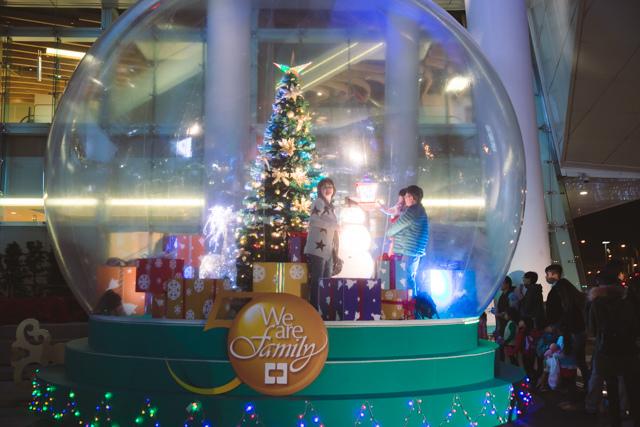 台北市中國信託金融大樓台北大聖誕樹好去處