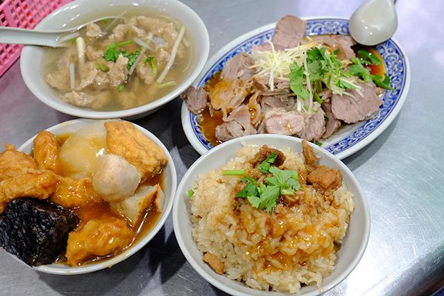 台北後火車站美食老圓環食品