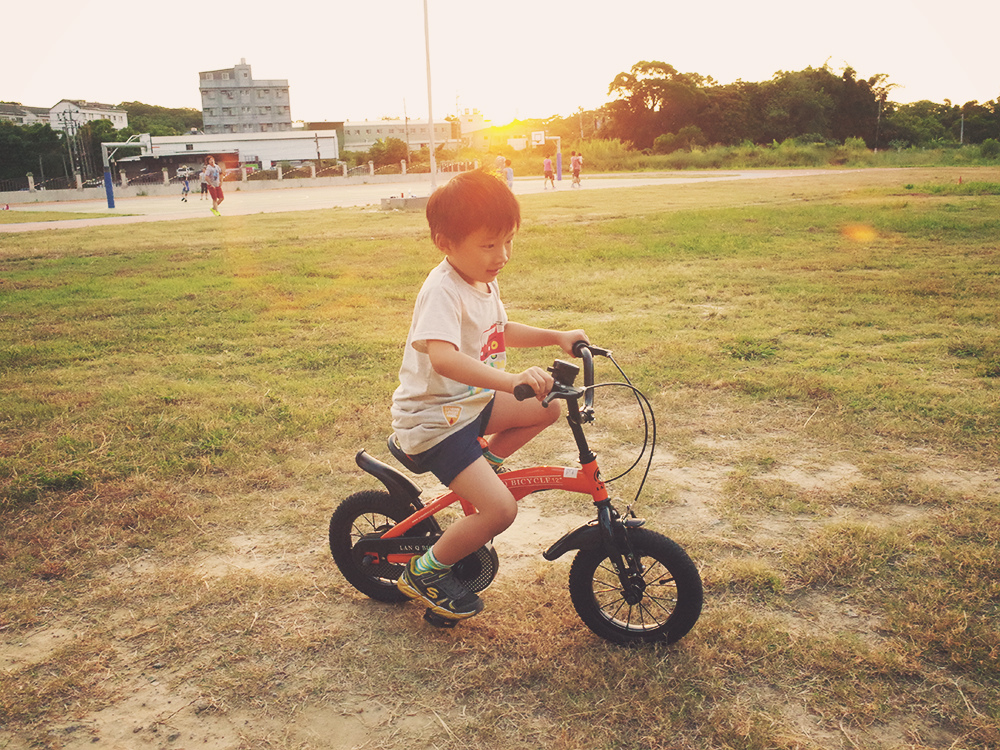 幼兒學腳踏車教學