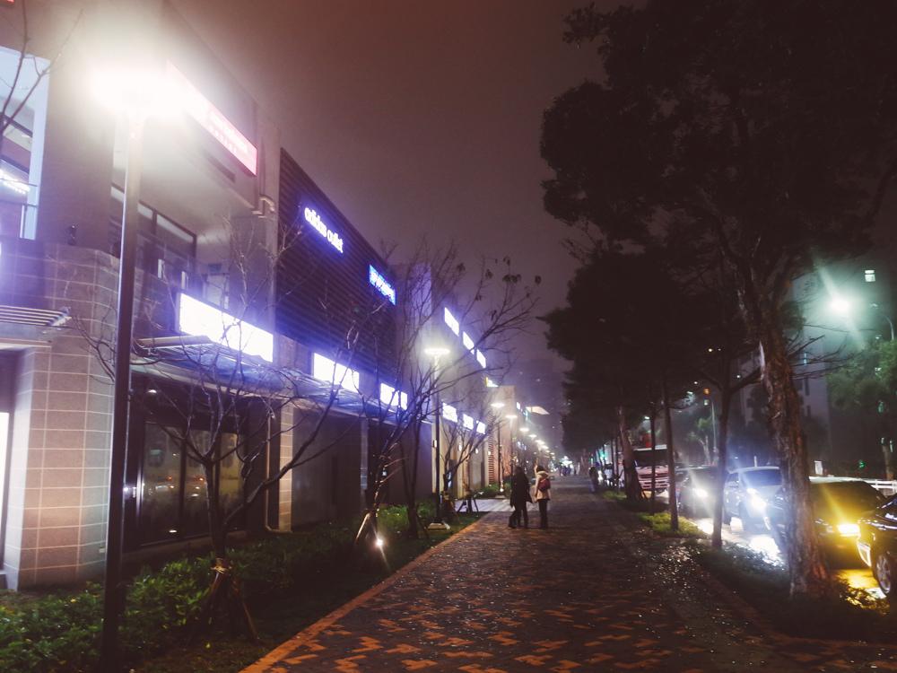 林口OUTLET夜景夜晚營業時間