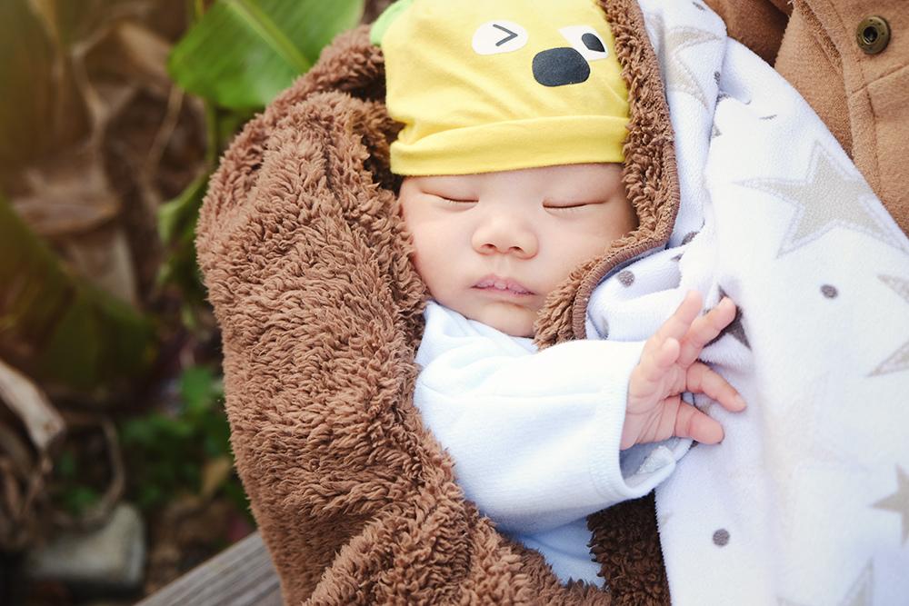 初生新生兒寫真