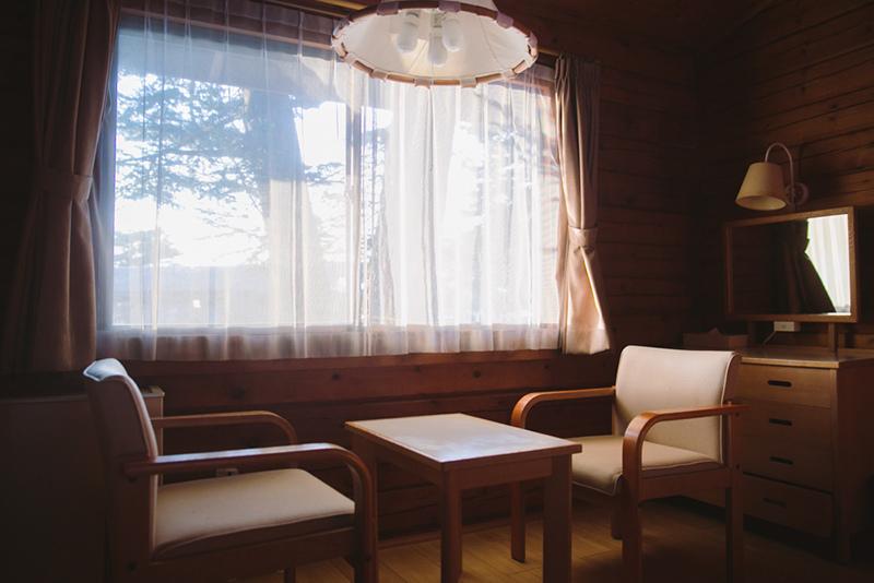 輕井澤王子大飯店西館小木屋雪