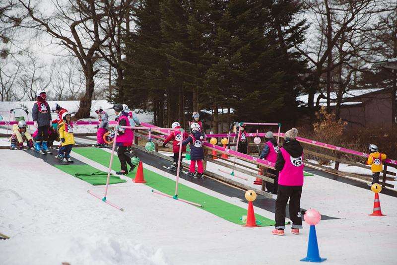 pandaruman貓熊滑雪學校兒童滑雪教學