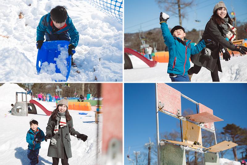 日本兒童玩雪場Kid's Park