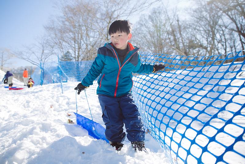 輕井澤兒童雪場kidspark