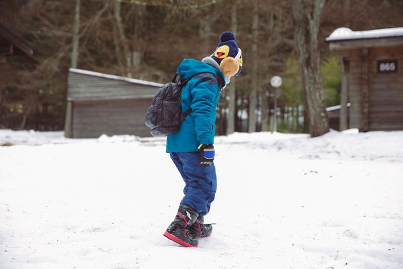 兒童雪地保暖穿搭