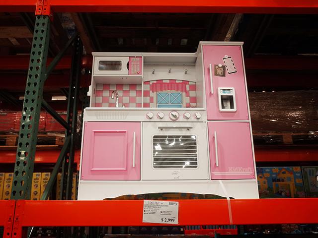 好市多KidKraft 烹飪廚房遊戲組粉色