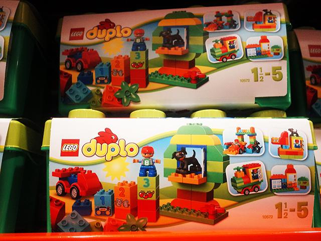 好市多costso樂高 LEGO 得寶系列綠色樂趣箱