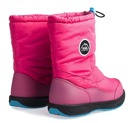 VANS兒童機能雪靴兒童雪地穿搭