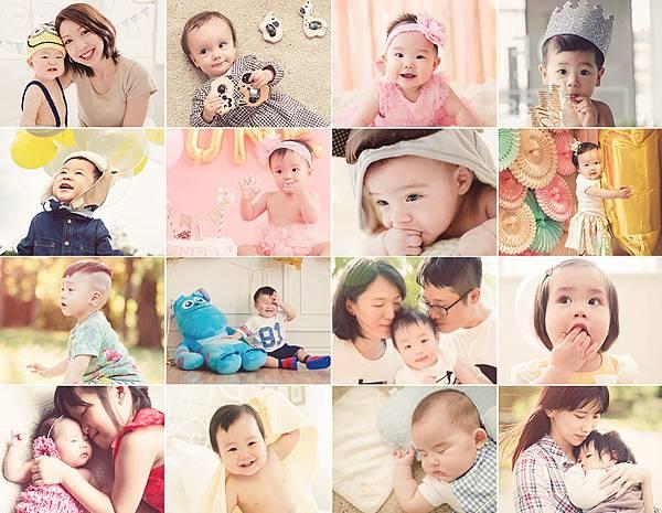 親子寫真全家福寶寶攝影師