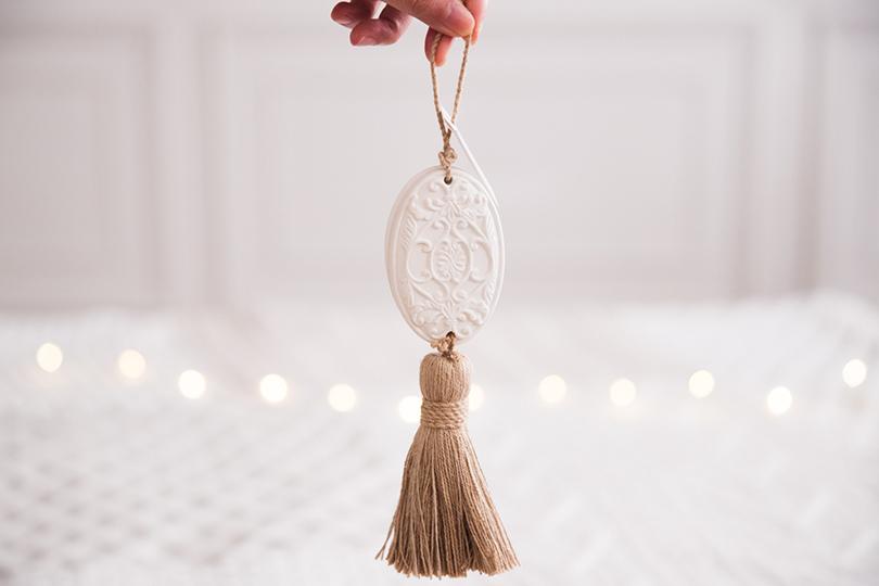 法國天使香氛石吊飾