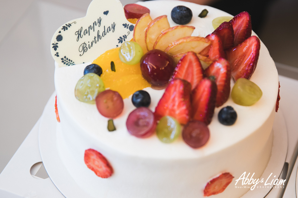 法朋柳橙布蕾生鮮奶油蛋糕