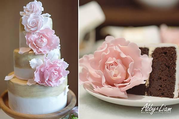雅廚甜菓子婚禮蛋糕