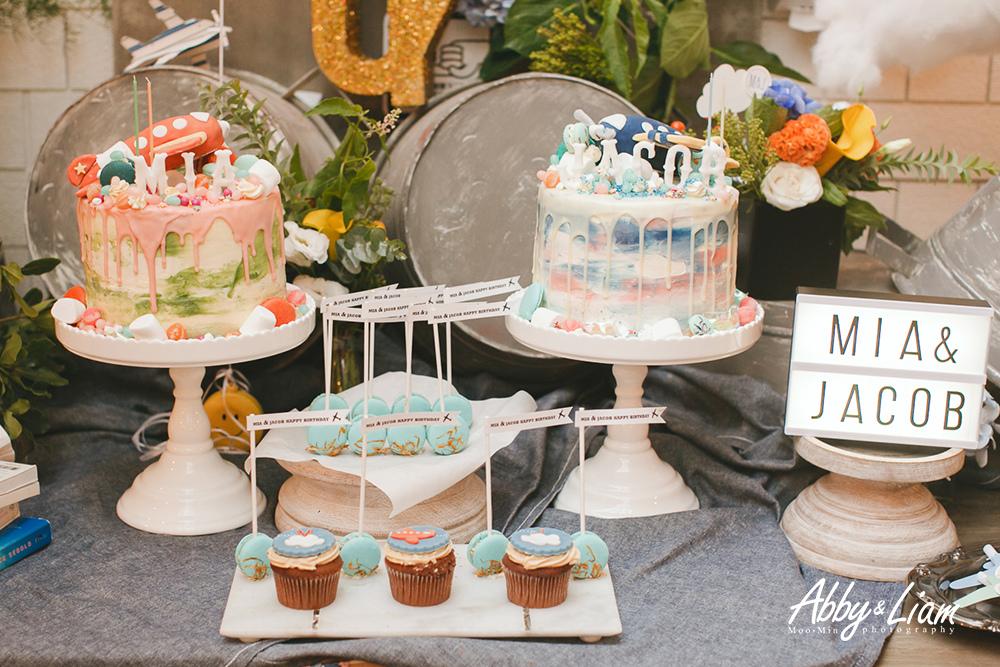 飛機主題生日派對設計款蛋糕