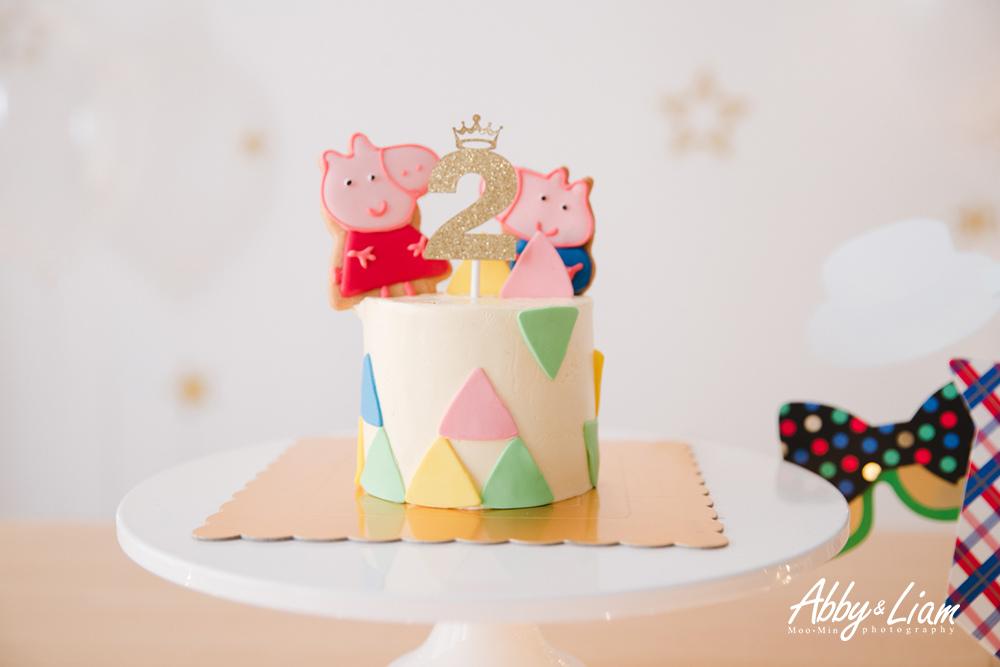 Peppa Pig生日蛋糕
