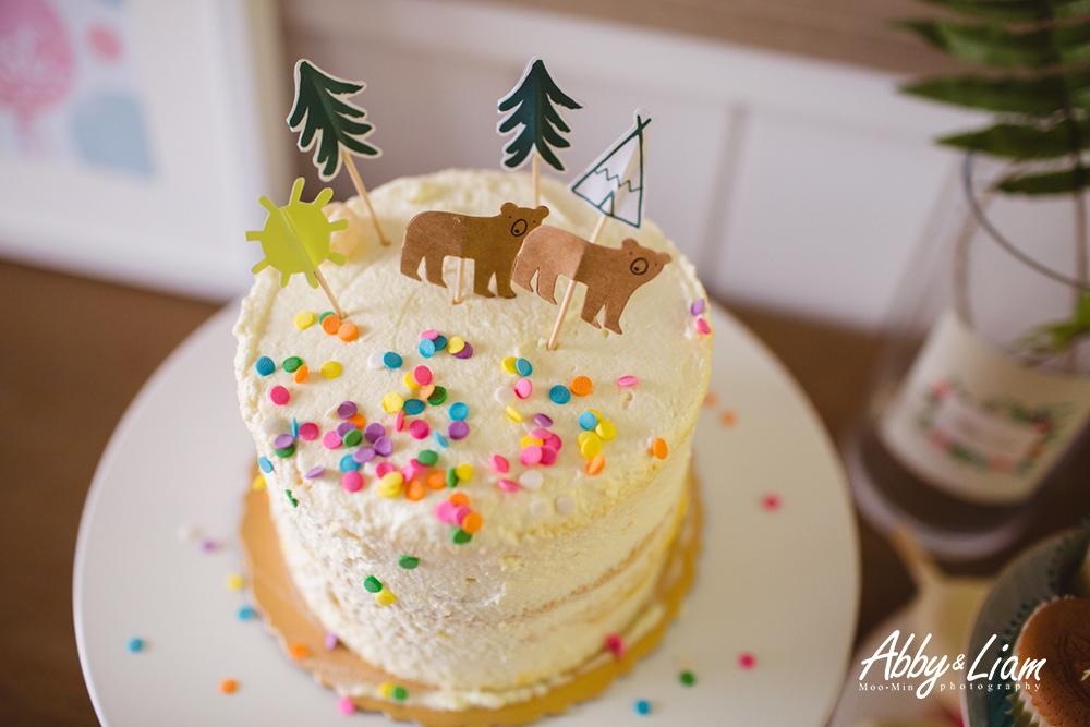自己做生日蛋糕