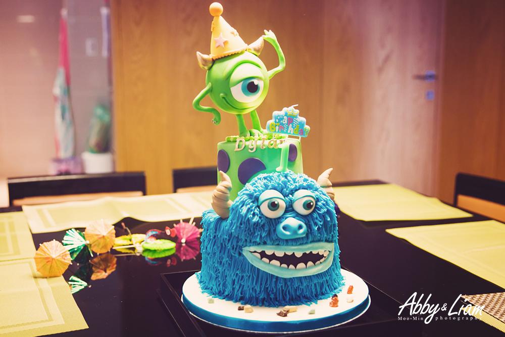 怪獸電力公司造型生日蛋糕推薦