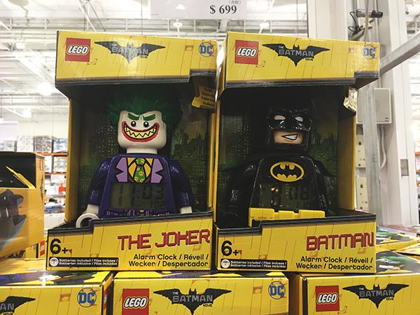 LEGO蝙蝠俠電影系列人偶鬧鐘