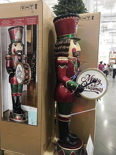好市多6呎胡桃鉗兵聖誕裝飾