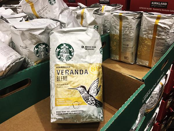 星巴克咖啡豆好市多